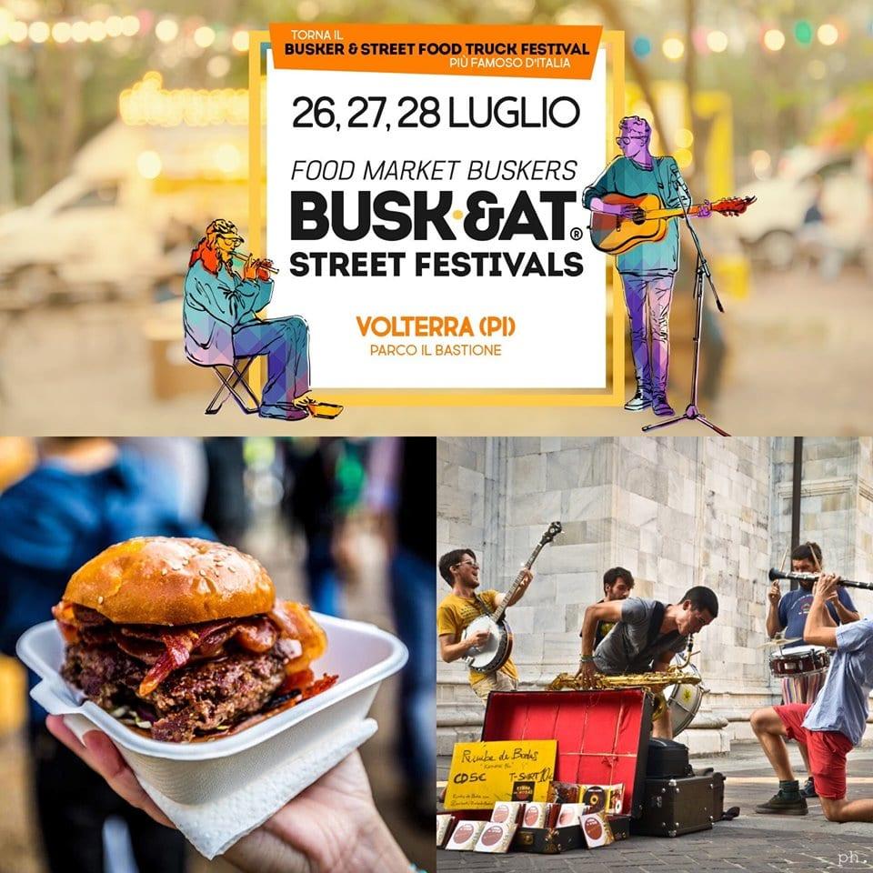 Busk&at Street Festival Volterra