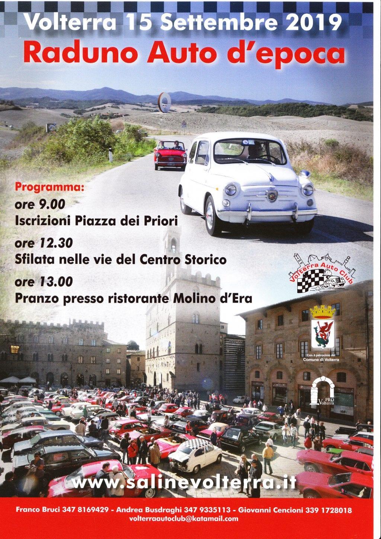 Raduno d'auto d'Epoca a Volterra