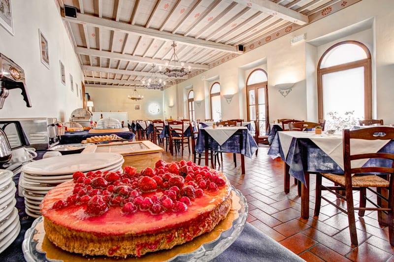 Hotel a Volterra Centro Storico La Colazione dell'Hotel San Lino