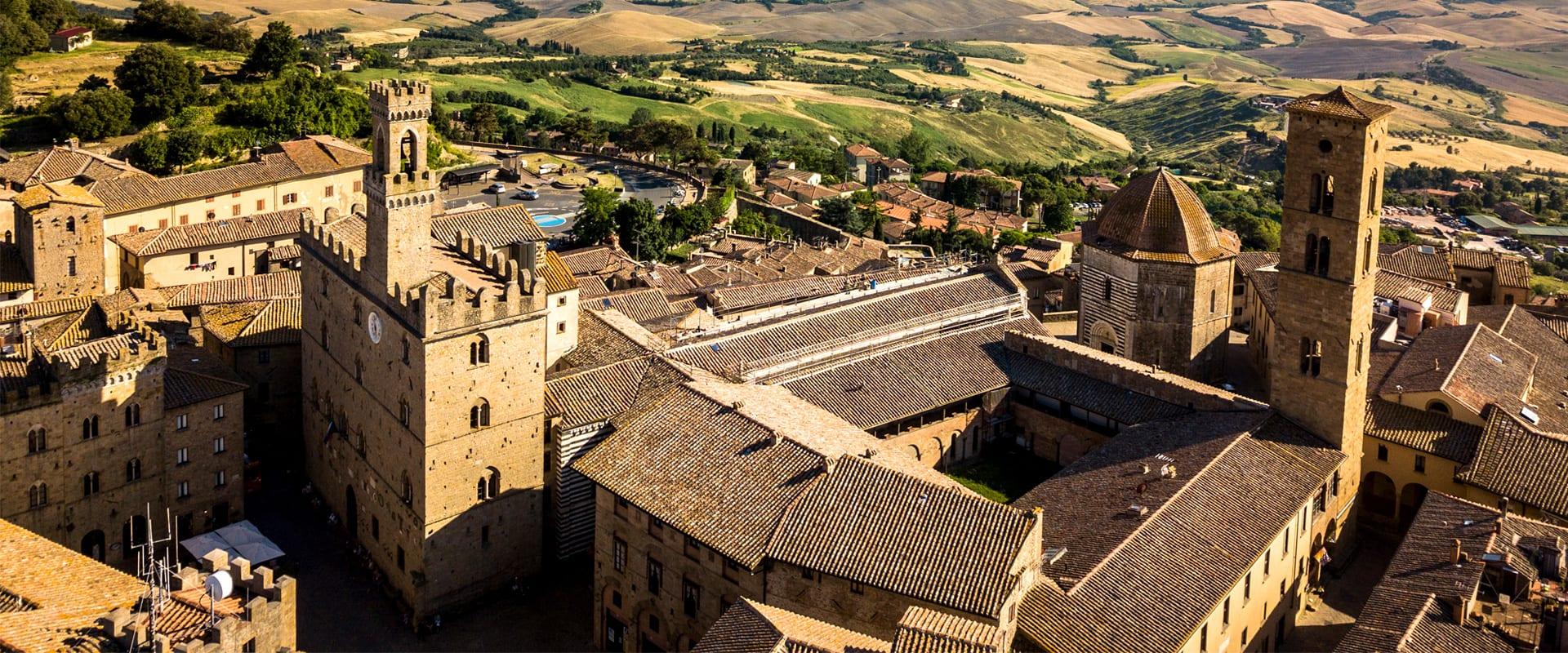 Vista dall alto Volterra Hotel San Lino
